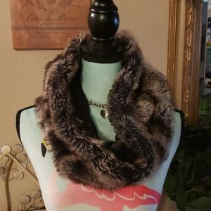 One Size Faux Fur Scarf